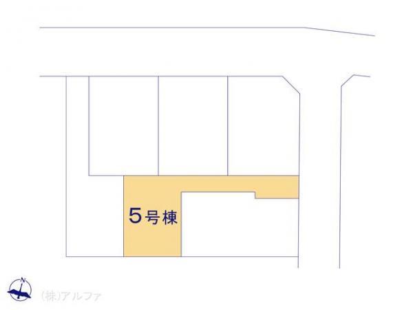 新築戸建 東京都練馬区石神井台8丁目5 西武新宿線武蔵関駅 4480万円