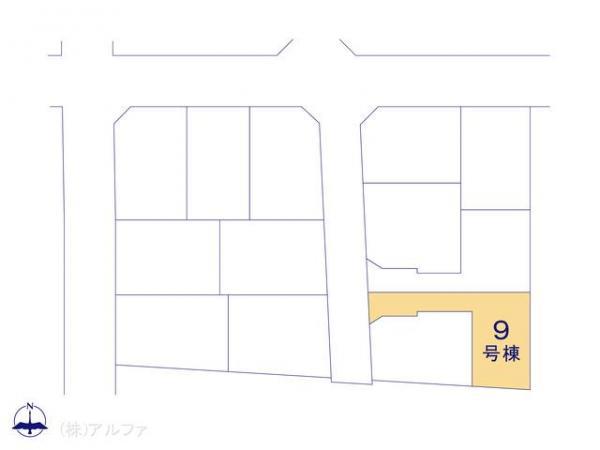 新築戸建 東京都練馬区谷原3丁目27 都営大江戸線光が丘駅駅 5180万円
