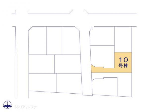 新築戸建 東京都練馬区谷原3丁目27 都営大江戸線光が丘駅駅 5230万円