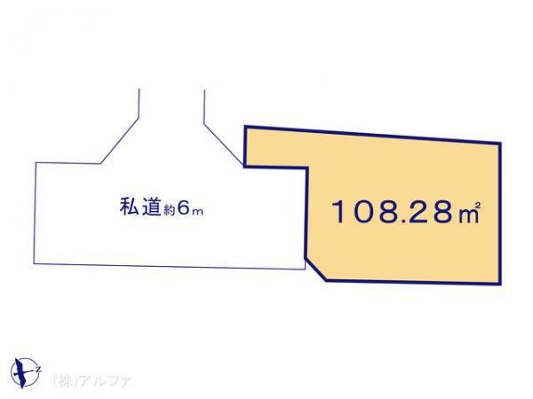 土地 東京都練馬区関町北4丁目28-8 西武新宿線東伏見駅 3980万円