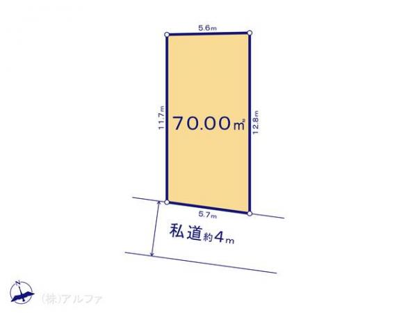土地 東京都板橋区泉町37-1 都営三田線本蓮沼駅 3840万円