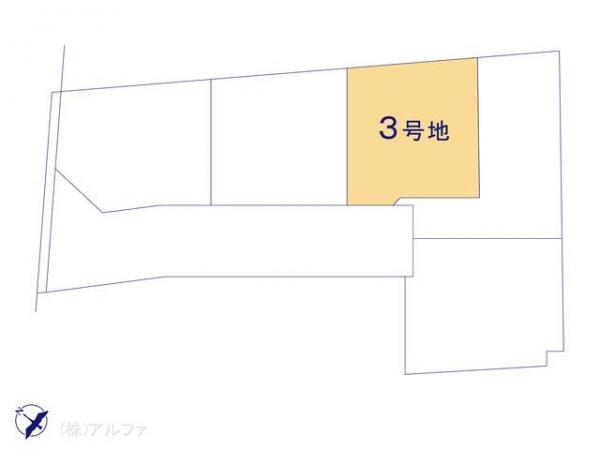 土地 東京都世田谷区桜丘3丁目6 小田急線千歳船橋駅 4810万円