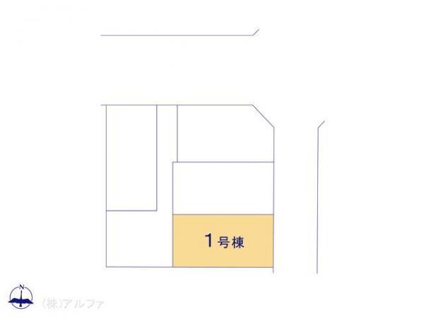 新築戸建 東京都杉並区上井草1丁目20-15 西武新宿線井荻駅 5390万円