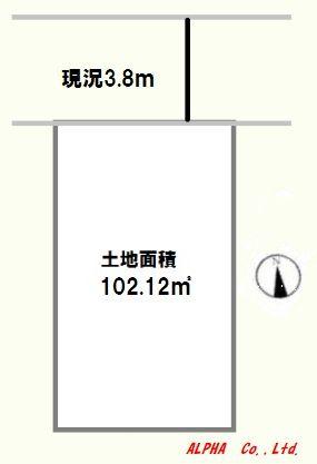 土地 杉並区成田西4丁目8-27 丸の内線南阿佐ケ谷駅 5390万円