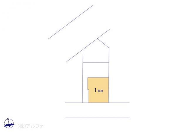 新築戸建 東京都板橋区三園1丁目14 都営三田線西高島平駅 4990万円