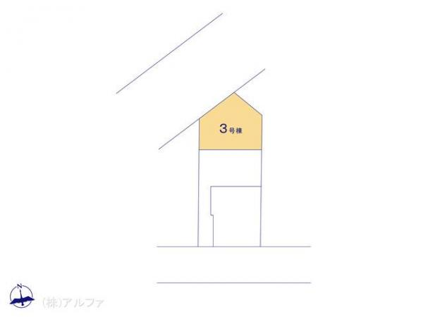 新築戸建 東京都板橋区三園1丁目14 都営三田線西高島平駅 4090万円