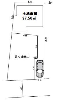 新築戸建 新宿区戸山1丁目13-2 東西線早稲田駅 6980万円