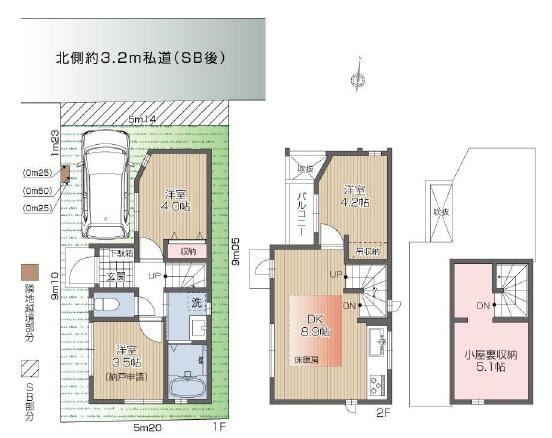 新築戸建 杉並区成田東5丁目 JR中央線阿佐ヶ谷駅 4480万円