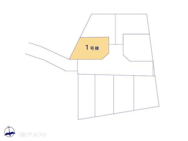 新築戸建 東京都中野区大和町4丁目246-1 西武新宿線鷺ノ宮駅 6380万円