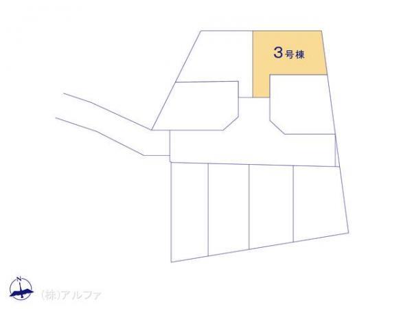新築戸建 東京都中野区大和町4丁目246-1 西武新宿線鷺ノ宮駅 6180万円