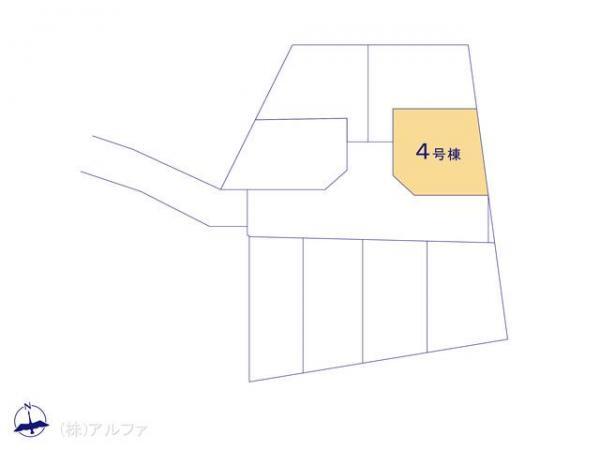 新築戸建 東京都中野区大和町4丁目246-1 西武新宿線鷺ノ宮駅 6680万円
