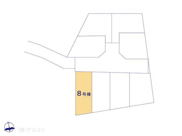 新築戸建 東京都中野区大和町4丁目246-1 西武新宿線鷺ノ宮駅 6350万円