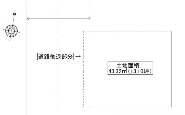 土地 豊島区高松2丁目 副都心線要町駅 3490万円