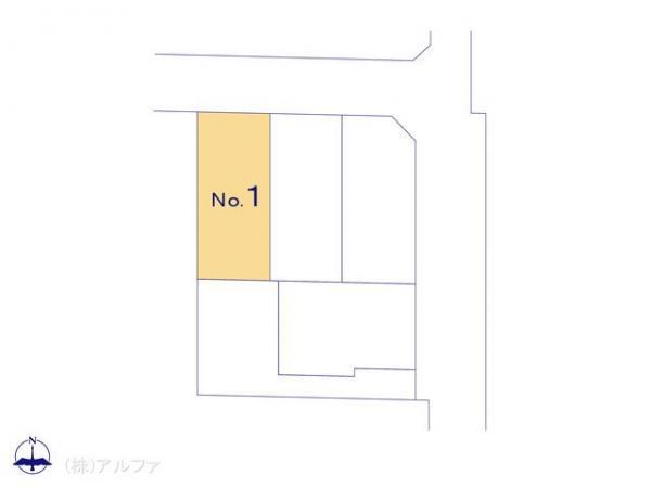 新築戸建 東京都練馬区関町北5丁目7 西武新宿線武蔵関駅 5980万円