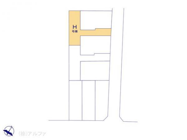 新築戸建 東京都中野区大和町2丁目8 西武新宿線野方駅 5680万円