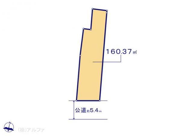 土地 東京都杉並区方南1丁目23-2 京王線笹塚駅 9500万円