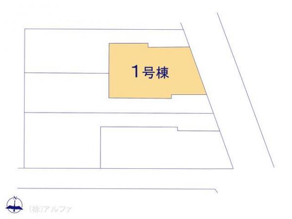 新築戸建 東京都杉並区井草1丁目24-7 西武新宿線下井草駅 6880万円