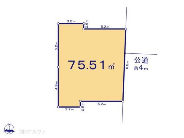 土地 東京都練馬区平和台2丁目16-17 有楽町線平和台駅 4900万円