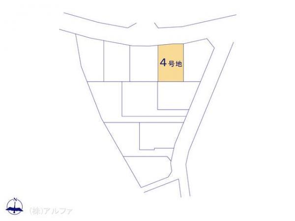 土地 東京都世田谷区喜多見4丁目3575 小田急線喜多見駅 3590万円