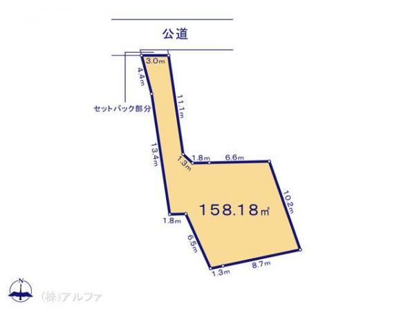 土地 東京都杉並区荻窪2丁目32-11 中央本線荻窪駅 6580万円