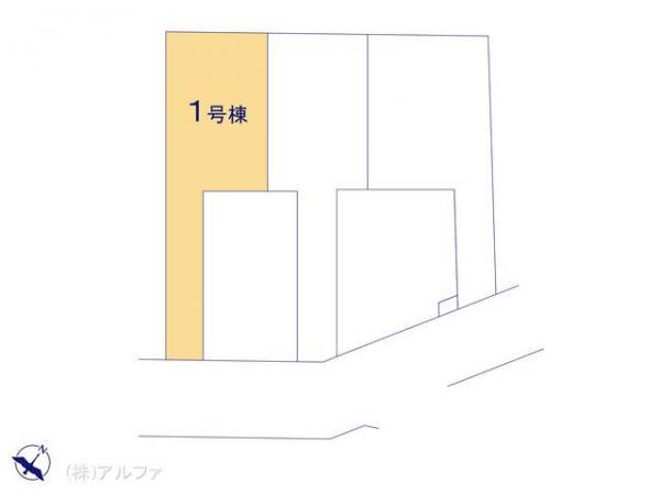 新築戸建 東京都練馬区富士見台4丁目29 西武池袋・豊島線練馬高野台駅 5780万円