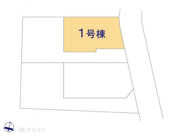 新築戸建 東京都板橋区中台1丁目311-3 東武鉄道東上線上板橋駅 5280万円