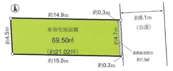 土地 杉並区久我山5丁目 京王井の頭線富士見ヶ丘駅 5580万円