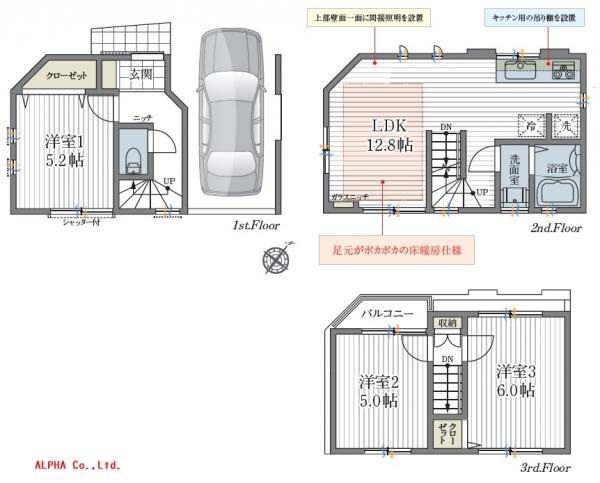 中古戸建 北区志茂4丁目 南北線志茂駅 4680万円