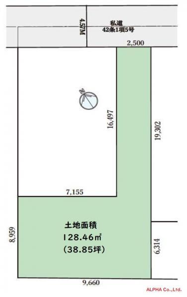 土地 世田谷区尾山台2丁目 東急大井町線尾山台駅 8000万円
