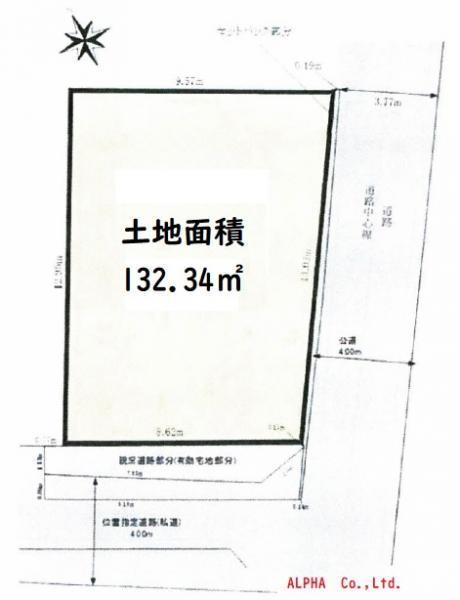 土地 杉並区成田西2丁目 京王井の頭線浜田山駅 7280万円