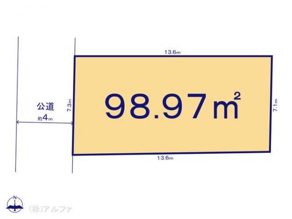 土地 東京都杉並区善福寺3丁目5-8 中央本線西荻窪駅 5380万円