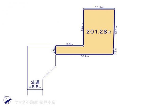 土地 千葉県柏市大井2227-1 JR常磐線(上野〜取手)柏駅 760万円