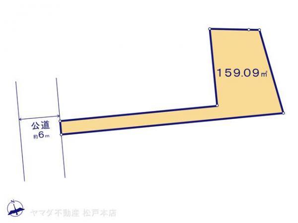 土地 千葉県柏市大室2丁目18-2 つくばエクスプレス柏たなか駅 2080万円