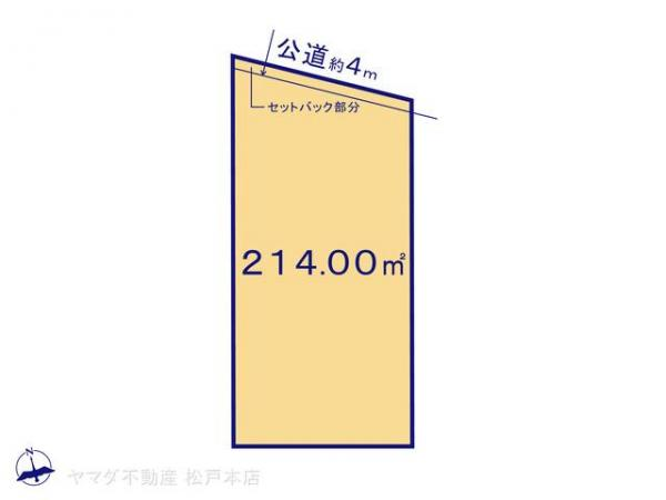 土地 千葉県野田市山崎1644-42 東武野田線梅郷駅 1350万円