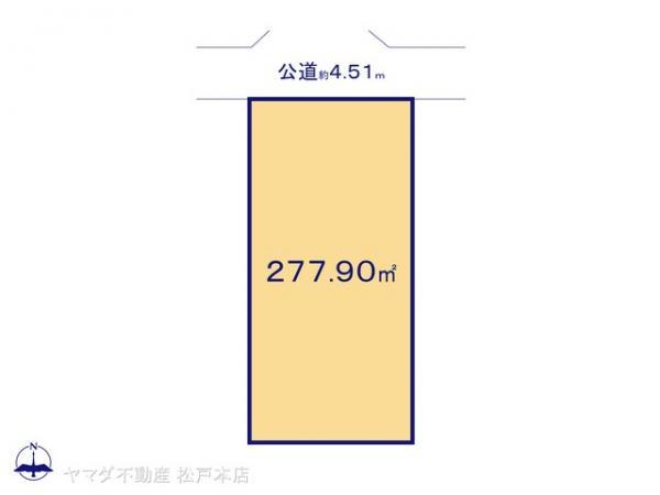 土地 千葉県船橋市芝山7丁目25-2 新京成電鉄高根木戸駅 1280万円