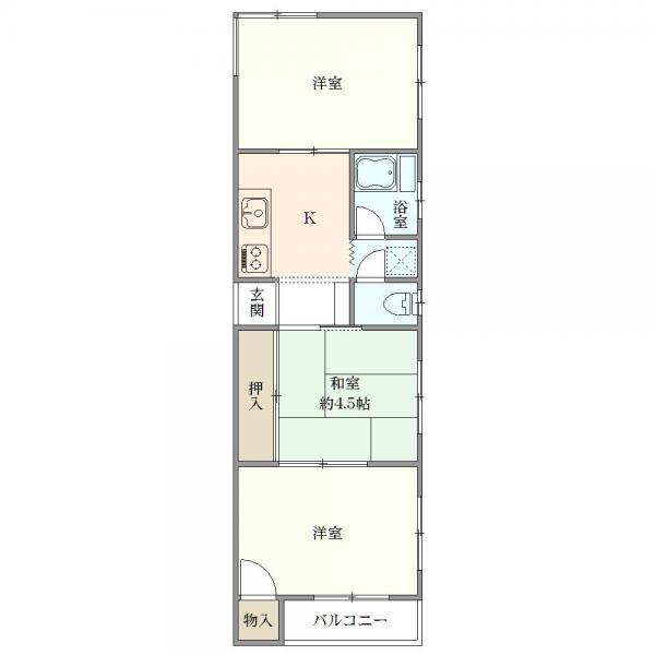 中古マンション 板橋区常盤台3丁目26-7 東武東上線上板橋駅 1360万円