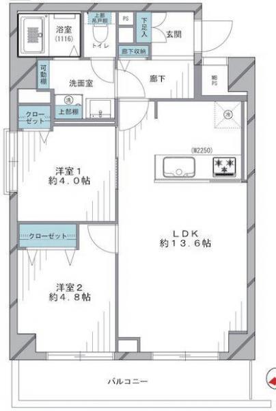 中古マンション 中央区築地7丁目11-13 日比谷線築地駅 4280万円