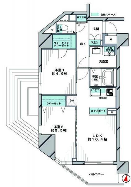 中古マンション 文京区本駒込4丁目46-4 JR山手線駒込駅 4680万円