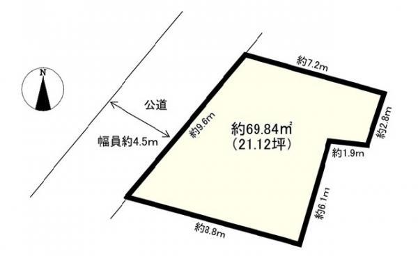 土地 新宿区西早稲田3丁目21-6 JR山手線高田馬場駅 8500万円