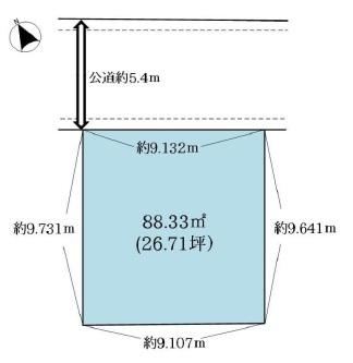土地 杉並区上荻3丁目12-13 JR中央線荻窪駅 5680万円