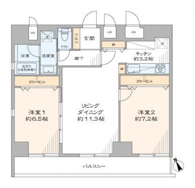 中古マンション 中央区入船1丁目4-8 日比谷線八丁堀駅 5580万円