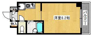 マンション 京田辺市山手東1丁目 JR学研都市線松井山手駅 4万円