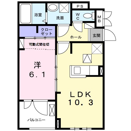 アパート 枚方市大峰元町1丁目 JR学研都市線藤阪駅 7.1万円