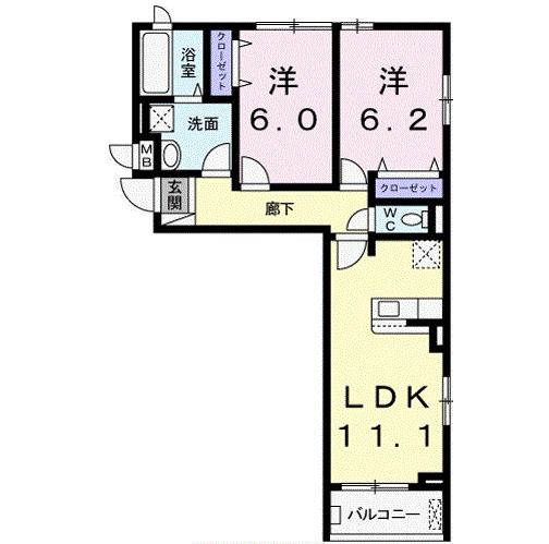 アパート 枚方市大峰元町2丁目 JR学研都市線藤阪駅 8.95万円