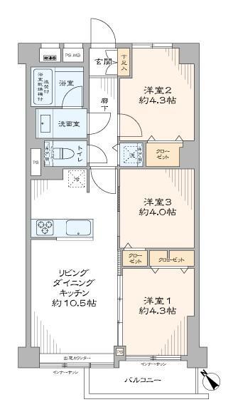 中古マンション 板橋区成増3丁目 東武東上線成増駅 3480万円