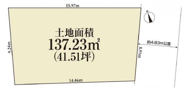 土地 三鷹市井の頭3丁目 京王井の頭線吉祥寺駅 8280万円