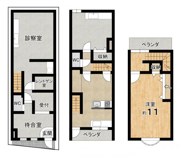 店舗事務所 宇治市六地蔵奈良町 JR奈良線六地蔵駅 1380万円