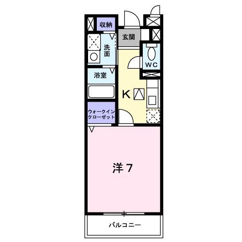 アパート 京田辺市大住責谷 JR学研都市線大住駅 4.7万円