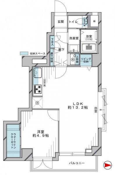 中古マンション 杉並区高円寺北2丁目 JR中央線高円寺駅 3980万円