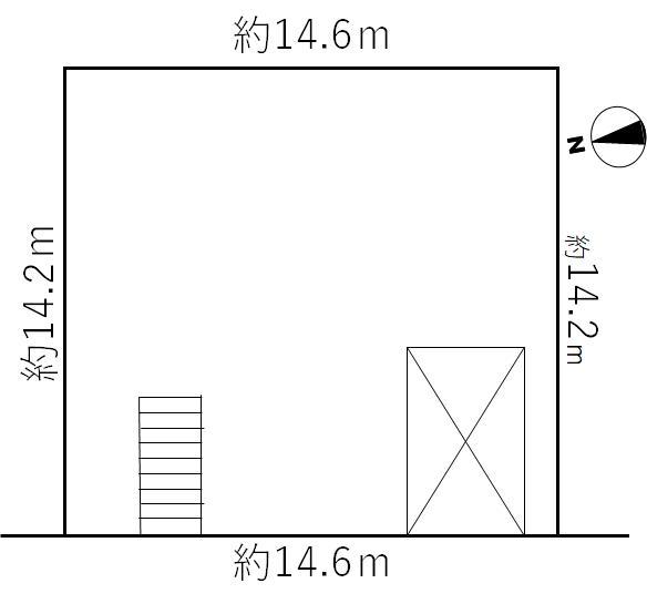 土地 枚方市北楠葉町 京阪本線樟葉駅 3380万円